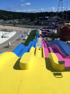 water slide refinish